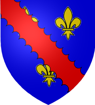 House of Bourbon-Montpensier - The arms of the House of Bourbon-Montpensier family