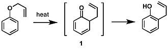 Claisen rearrangement - The Claisen rearrangement