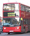 Arriva London bus VLA157 (LJ55 BSU) 2005 Volvo B7TL Alexander Dennis ALX400, Whitehall, route 159, 9 December 2005.jpg