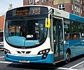 Arriva bus 1404 VDL Bus SB200 Wrightbus Pulsar II NK09 BPF in Newcastle upon Tyne 9 May 2009 pic 1.jpg