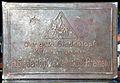 Art déco bedruckte Blechdose H. Siedentopf - Kaffee - Rösterei - Bremen, Bodenprägung Logo Der gute ...jpg