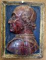Arte marchigiana della fine del XV sec, busto di federico da montefeltro.JPG