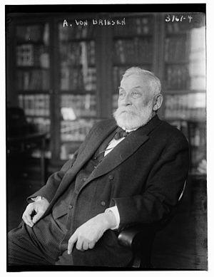 Arthur von Briesen (lawyer) - von Briesen in 1915