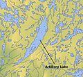 Artillery Lake, Northwest Territories map 01.jpg
