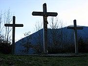 Croix dédiée à l'archange saint Michel