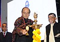 Arun Jaitley lighting the lamp at the Investiture Ceremony 2017 and International Customs Day 2017, organised by the Central Board of Excise and Customs (CBEC), in New Delhi.jpg