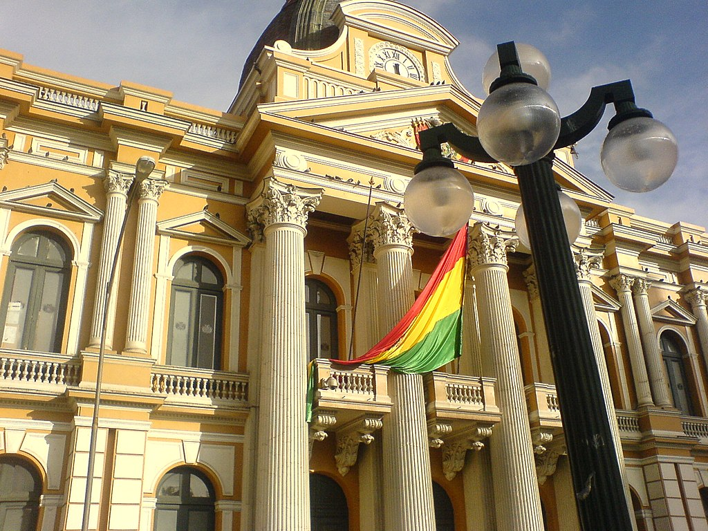 Resultado de imagen para Asamblea plurinacional de Bolivia
