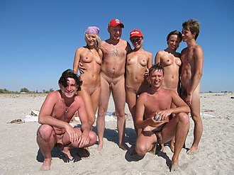 Nudist multiple penetration