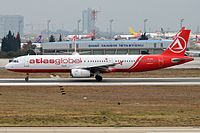 TC-AGI - A321 - Atlasjet
