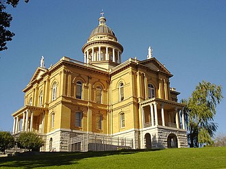 Auburn, California - The Placer County Courthouse was constructed between 1894 and 1898.