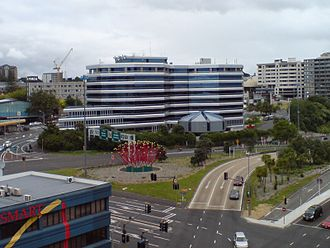 Auckland Regional Council - ARC headquarters in Pitt St