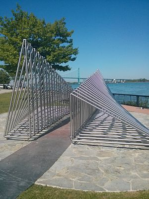 Windsor Sculpture Park - Image: Audio Corridor