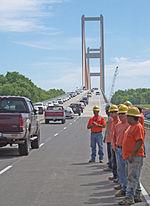 John James Audubon Bridge Mississippi River Wikipedia