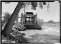 August, 1971. VIEW FROM N DOWN RIVER. - Irrigation Water Wheel, Hastings Ranch, Green River, Emery County, UT HAER UTAH,10-GRENRI,1-2.tif