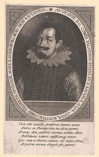 Augustus, Count Palatine of Sulzbach - Image: August, Pfalzgraf von Sulzbach