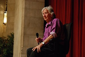 Augusto Boal - Boal presenting a workshop on the Theatre of the Oppressed at the Riverside Church in New York, 13 May 2008.