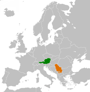 Diplomatic relations between the Republic of Austria and the Republic of Serbia