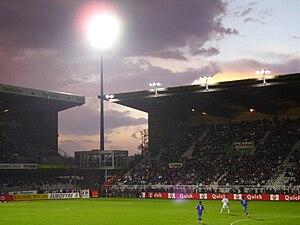 Stade de l'Abbé-Deschamps - Stade Abbé-Deschamps