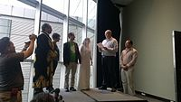 Avner and Darya's wiki Wedding at Wikimania by ovedc 08.jpg