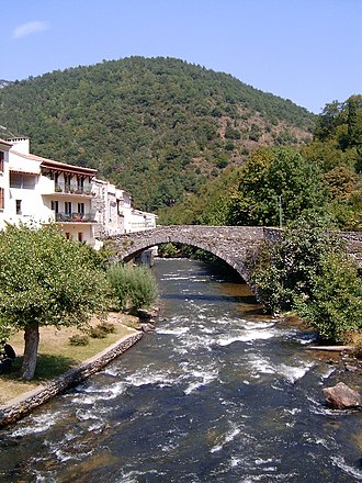 Aude (river) - The Aude at Axat