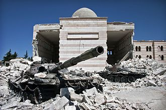 Battle of Azaz (2012) - Image: Azaz, Syria