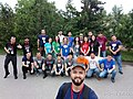 Azerbaijani Wikipedians in 2018 Spring WikiCamp 02.jpg