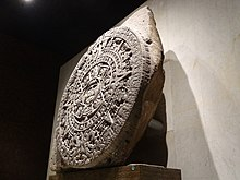 Aztec Calendar Stone.Aztec Sun Stone Wikipedia