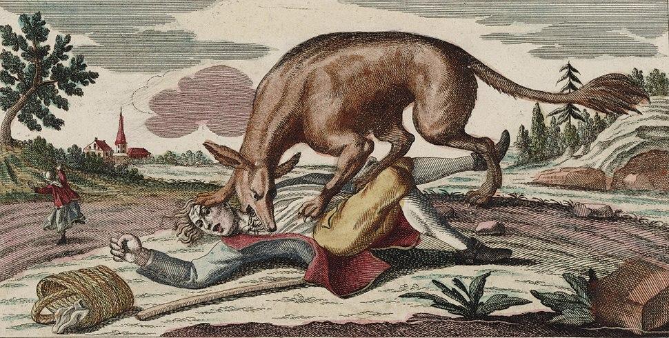 Bête du Gévaudan (1764)