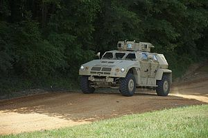 Joint Light Tactical Vehicle - BAE Systems Valanx JLTV in 2012. BAE's Valanx would not progress to EMD phase.