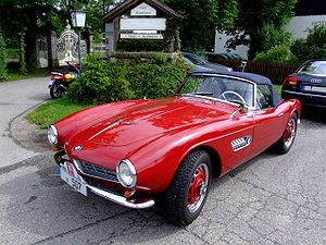 BMW 507 - Front 3/4-view