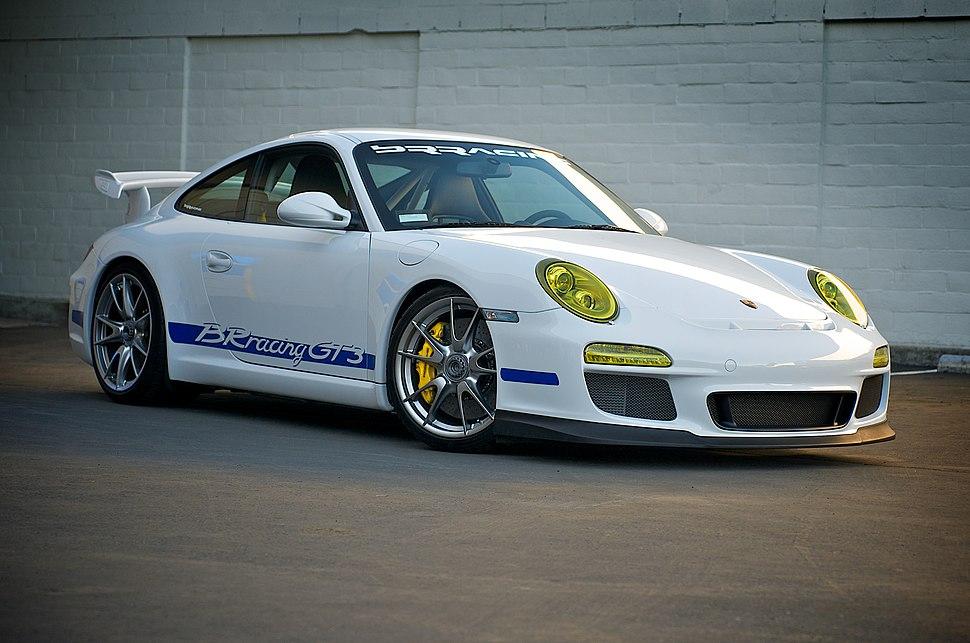 BRRacing Porsche 997 GT3 front