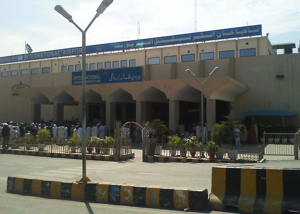 Bacha Khan International Airport Peshawar KPK