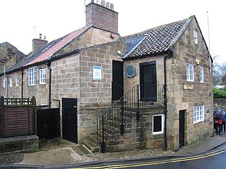 Great Ayton - Image: Back entrance to the Schoolroom Museum in Great Ayton geograph.org.uk 1608676