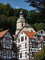 Bad Sooden-Allendorf - Kirche und Fachwerkhäuser.JPG