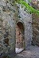 Baden - Burg Rauheneck - Eingang in die Burgkapelle.jpg