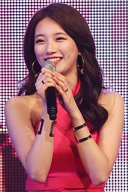 "Bae Suzy at Miss A ""Colors"" showcase, 30 March 2015.jpg"