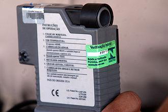 Breathalyzer - A law enforcement grade Breathalyzer, specifically an Alco-Sensor IV