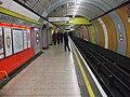 Baker Street stn Jubilee line southbound look north.JPG