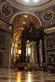 Baldachin of Saint Peter's Basilica.jpg