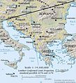 Balkan peninsula line (version without Kosovo).jpg