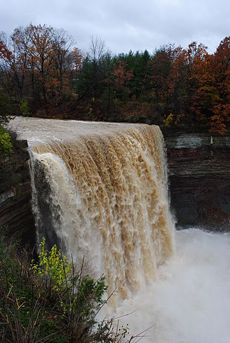 Jordan, Ontario - Ball's Falls is located in Jordan, Ontario, on the grounds of the Niagara Peninsula Conservation Authority's headquarters.