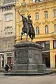Ban Josip Jelačić statue, Zagreb.JPG