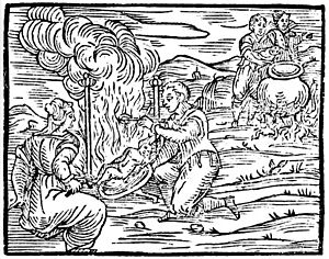 Compendium Maleficarum - illustration from the original edition