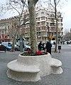 Bancs-escocell del Passeig de Gràcia.jpg