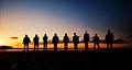 Band of Brothers Normandy 2011 Omaha Beach (11307212263).jpg