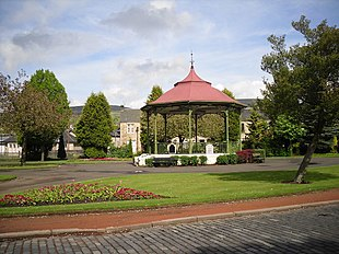 The bandstand in Burngreen, Kilsyth