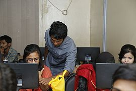 Bangla Wikipedia Workshop at Chittagong Independent University (06).JPG