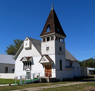 National Register of Historic Places listings in Washington County, Idaho - Image: Baptist Church Weiser Idaho