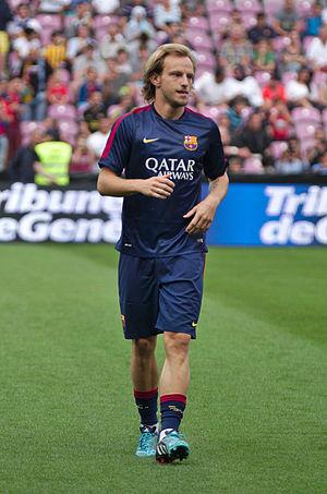 Ivan Rakitić - Rakitić with Barcelona in 2014.