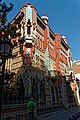 Barcelona - Carrer de les Carolines - View North on Casa Vicens 1883-89 Antoni Gaudí II.jpg